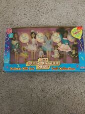 Rare 1992 Babysitters Club Deluxe Gift Set 8 Doll Collection by Remco In Box.