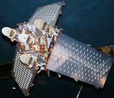Iridium Motorola Constellation Satellite Handcrafted Wood Model Regular New