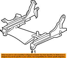 CHRYSLER OEM Seat Track-Seat Track Left 4741169