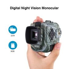 5x18 Digital Night Vision Monocular 8GB Observing Wildlife Telescope Photo&Video