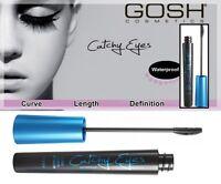 GOSH Catchy Eyes Mascara Black  Waterproof Curve Lenthening Definition 8 ml