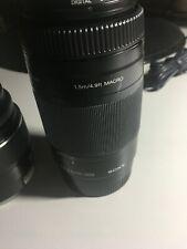 Sony Lens A 18-55mm f/3.5-5.6 SAM & 75-300mm f/4.5-5.6