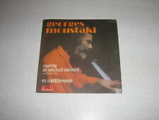 GEORGES MOUSTAKI 45 TOURS FRANCE MORRICONE
