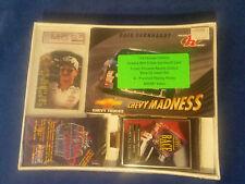 NASCAR DALE EARNHARDT SR LOT RACER'S RACERS CHOICE 5 CARD INSERT & 4RACING PACKS