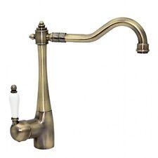 ENKI Kitchen Sink Mixer Tap Single Lever Swivel Spout Antique Bronze VIGO