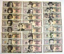 ONE MILLION DOLLARS CELEBRITES ( LOT 25 )