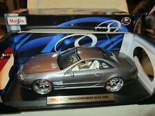 Mercedes Benz SL55 maisto players luxury diecast 1/18 CUSTOM wheels & brakes