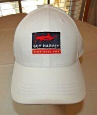 1b389f35 Mens Guy Harvey Adjustable Hat One Size White Armada Hat GHH22044 cap lid