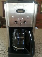 CUISINART BREW CENTRAL DC-1200 12-CUP COFFEE MAKER BRUSHED METAL