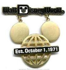 Disney Pin: WDW - Retro Walt Disney World Collection - Mickey Mouse Icon Sign
