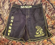 Us Army Modern Combatives Fighting Mma Grappling Wrestling Shorts Large Military