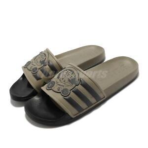 adidas Adilette TND Star Wars Green Black Men Unisex Slip On Sandal Slide GZ0070