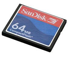 64MB 64 MB SANDISK COMPACTFLASH CF-CARD KOMPAKT INDUSTRIAL GRADE ROTBLAU -7