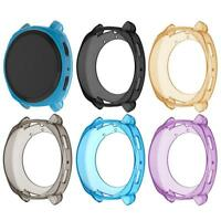 TPU Clear Protective Frame Shell Case Cover for Samsung Gear Sport Smart Watch