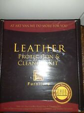 Art Van Leather Protection and Cleaning Kit Brand New Sealed