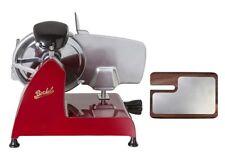Berkel-Affettatrice Red line 250 + Tagliere in frassino e acciaio inox (Rosso)