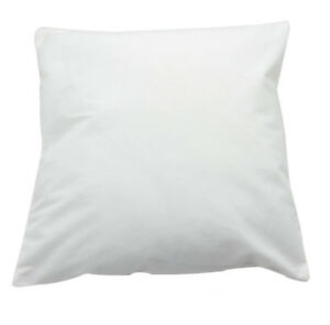 Sublimation White Cushion Cover Microfiber Cloth 40x40cm LP-CC-40C Heat Press