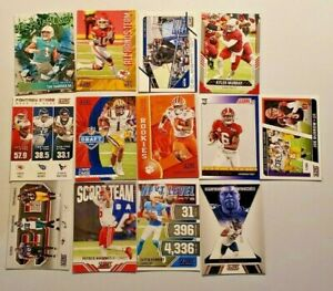 2021 Score Football Inserts You Pick with Rookies and Red Parallels You Pick