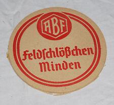 Alter Bierdeckel ABF MINDENER FELDSCHLÖßCHEN Weser Pils kein VK