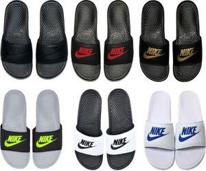 Nike Mens Benassi Sliders Slides Shoes Slippers Pool Sandals Flip Flops Size