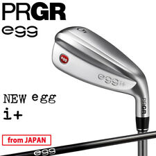 YOKOHAMA PRGR Golf Japan NEW egg i+(Plus) Utility Hybrid Graphite 2021c