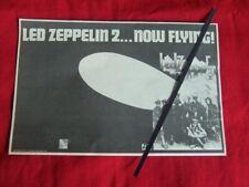 LED ZEPPELIN 1969 RARE VINTAGE ADVERT LED ZEPPELIN II ALBUM LP ATLANTIC RECORDS