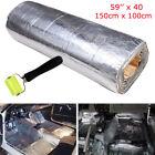 "Car Insulation 59""x40"" Automotive Heat Shield Insulation Sound Deadener 394mil A"