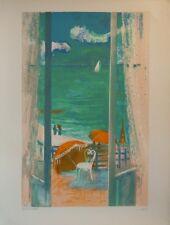 Paul COLLOMB (1921-2010) Lithographie signée Jeune Peinture Nle Ecole de Paris