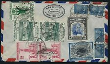 COLOMBIA 1950's Airmail Cover England BANK London South America Cali 1105