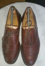 John Crocket handmade Luxus Schuhe Voll Echtleder Schwar 42 made in England