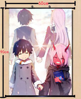 Zero Two Darling in the Franxx Anime Poster Home Decor Poster Wall Scroll40*60cm