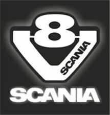 SC-2 Scania Truck Logo V8 Griffin Engine A5 A4 Size Airbrush Stencils Car Motor
