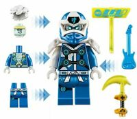 NEW Authentic LEGO Ninjago Digi Jay / Jay Avatar Set w/Weapons + Health Bar!