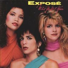 EXPOSE - What You Don't Know (CD 1989) USA First Edition EXC 80s Pop Exposé
