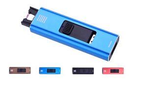 Design Lichtbogen Plasma Feuerzeug USB Aufladung Strom Wind Sturm elektrisch