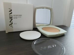 AVON ANEW AGE-TRANSFORMING PRESSED POWDER SPF15 BRAND NEW & BOXED Nude Beige