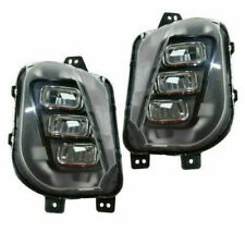 FITS FOR ACURA MDX 2017 2018 2019 2020 FOG LAMP W/LED RIGHT & LEFT PAIR SET