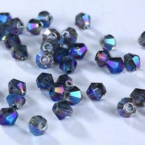 DIY Fashion Jewelry 100pcs 3mm #5301 Bicone Austria Crystal bead Loose beads