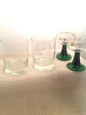 Ship And Lighthouse Glasses Glass Drinking Bar Whiskey Vintage And Schmitt Sohne