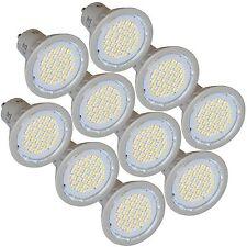 10 LED de ahorro de energía bombillas GU10 3W 4200K blanco frío reemplaza a 35W Halógeno