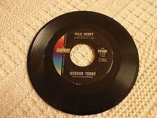 ROCKABILLY GORDON TERRY  WILD HONEY/FOR OLD TIMES SAKE LIBERTY 55500