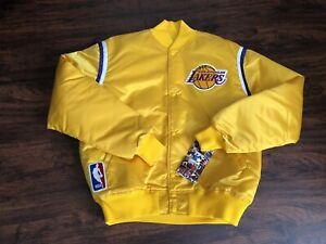Vintage 80's Los Angeles Lakers Starter Jacket NWT Magic Kareem