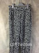 Zara Loose Fitting Spot Patterned Trousers Size Medium B19 Ref 7740 555