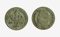 pcc2128_73) Francia 50 Centimes 1866 BB Strasburgo