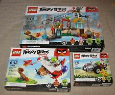 Lego The Angry Birds Movie Box No 75821 / 75822 / 75824 MB FREE SHIPPING