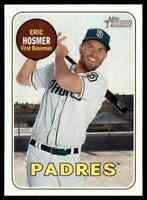 2018 TOPPS HERITAGE SP ERIC HOSMER SAN DIEGO PADRES #709