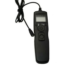 AU Timer Shutter Release Remote Cord Cable for Canon DSLR  EOS 5D Mark II 7D 6D