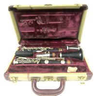 Vintage Leblanc Paris Symphonie Model France Vito Bb Profesional Wooden Clarinet