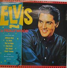 "ELVIS IN HOLLYWOOD - SAME - JAILHOUSE ROCK - G.I. BLUES 12 "" LP (W271)"