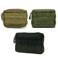 Tactical Waist Pack Bag Pouch Belt Molle Multi-purpose Phone Pocket Storage